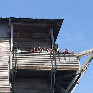 Lookout Tower at Core Sound Museum