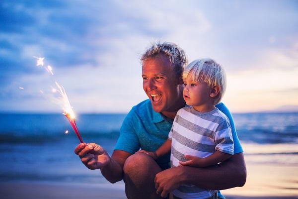 Watch Fireworks on the Beach in Emerald Isle NC