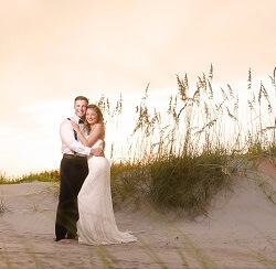 Emerald Isle Beach Wedding Package Unparalleled Perfection