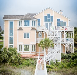 Beach House Rentals for Weddings in Emerald Isle NC
