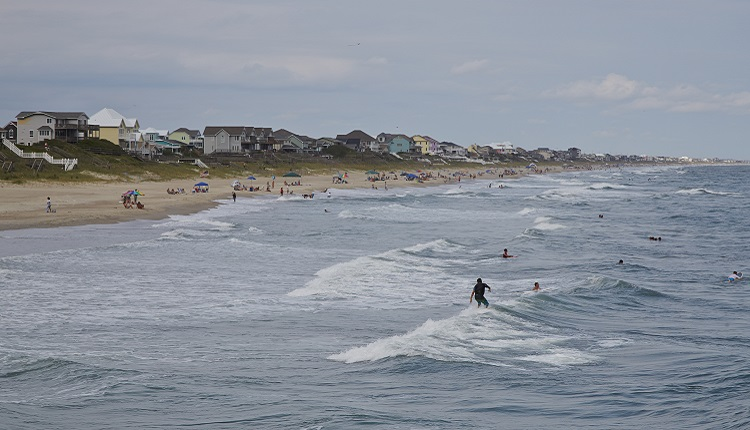 Emerald Isle, on the Southern Outer Banks of North Carolina
