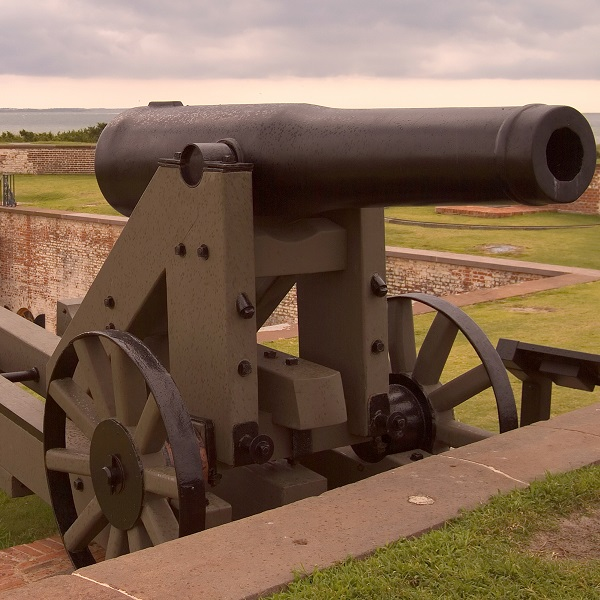 Fort Macon State Park Cannon