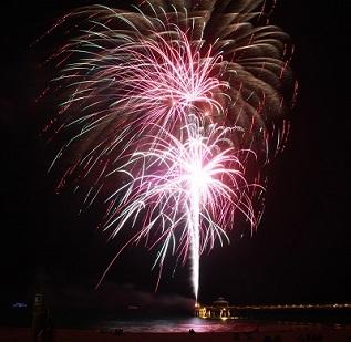 4th of July Fireworks - Emerald Isle, NC