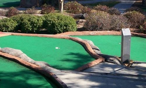 Putt Putt at Golfin' Dolphin in Cape Carteret