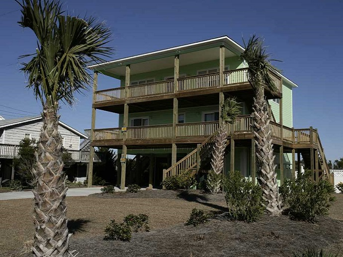 key lime retreat house emerald isle, nc