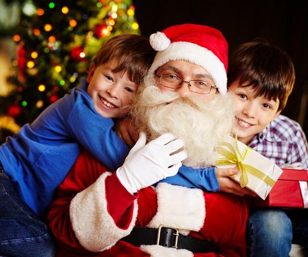 Santa and a Movie in Emerald Isle NC