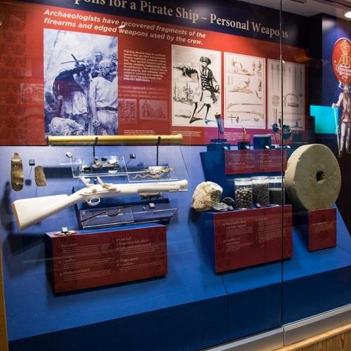 NC Maritime Museum exhibits
