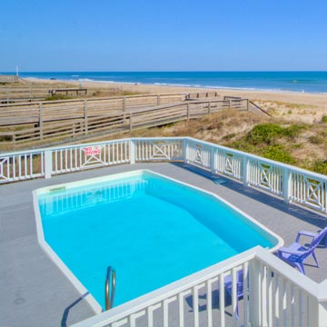 Oceanfront Vacation Rentals in Emerald Isle, North Carolina