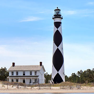 Cape Lookout Lighthouse on North Carolina's Crystal Coast
