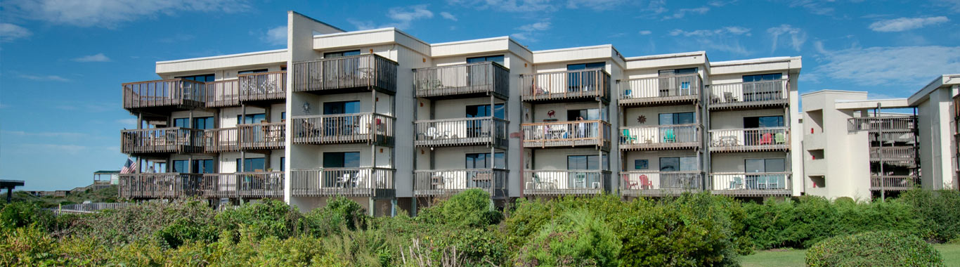 Queens Court Condos in Emerald Isle NC