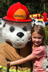 Sparky at Emerald Isle Day 4 Kids