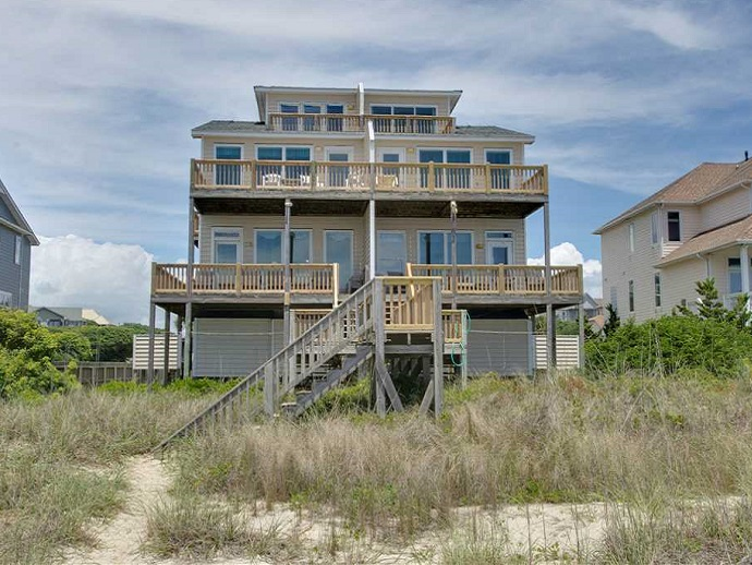 Star Deck West Duplex in Emerald Isle NC