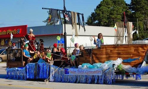 Parade at Swansboro Mullet Festival