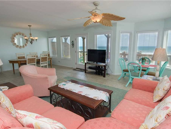 top notch too west duplex living room emerald isle nc