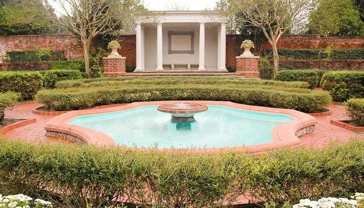 Tryon Palace Gardens in New Bern NC