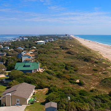 Search Emerald Isle Vacation Rentals on North Carolina's Southern Outer Banks