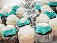 Wedding Cupcakes Beach Wedding Emerald Isle NC