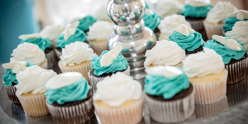 Wedding Cupcakes Beach Wedding Emerald isle