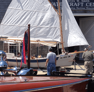 Wooden Boat Show in Beaufort NC